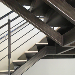 Our Stairs Can Be Incorporated With A Variety Of Stairs Treads Such As  Concrete Pan, Stone Or Tile, Wood, Diamond Plate, And Metal Grating Just To  Name A ...